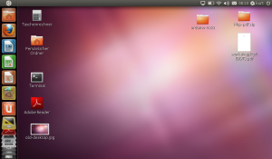 Desktop unter Ubuntu 11.04