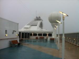 Foto: Nebel an Deck der Color Magic