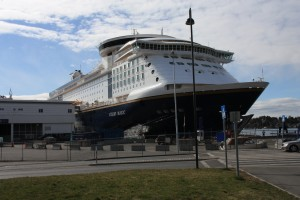 Foto: Color Magic im Osloer Hafen