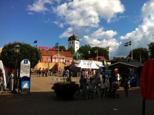 Marktplatz in Uddevalla